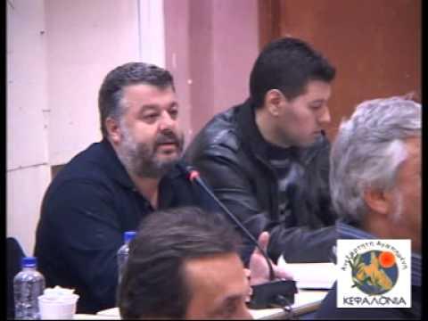 Η τοποθέτηση του Θεόφιλου Μιχαλάτου στο Δημοτικό Συμβούλιο που πραγματοποιήθηκε στη Σάμη