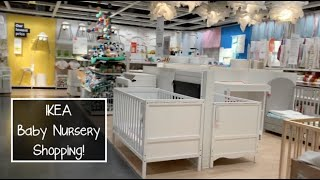 Nursery Furniture Shopping At IKEA | Foster Care #fostercare #singlefostermom #singlemombychoice