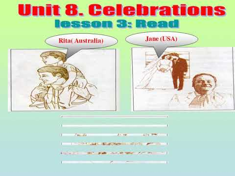 TIẾNG ANH 9. TIẾT 50.  UNIT 8. CELEBRATIONS. LESSON 3. READ