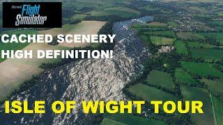 Microsoft Flight Simulator - ISLE OF WIGHT ULTRA DETAIL! CACHED OFFLINE SCENERY!