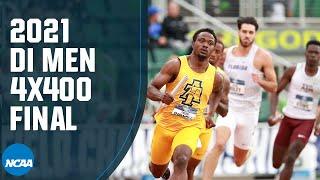 4x400 رجال - 2021 بطولة NCAA لألعاب القوى