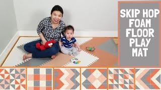 Skip Hop Playspot Interlocking Foam Play Mat For Babies And Infants