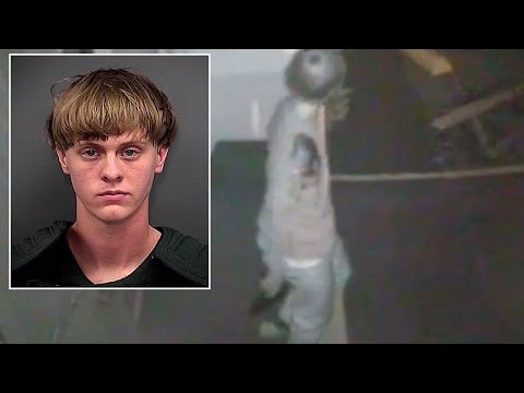 Sees Disturbing Video Of Dylann Roof Entering Church Before Shooting