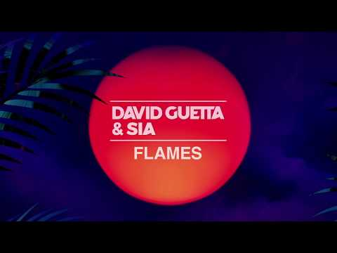 David Guetta & Sia - Flames [ One Hour Loop ] The Best Quality