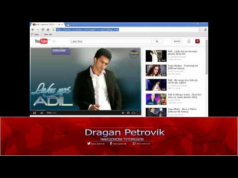 Како да симнете песна од YouTube / How to download music from YouTube