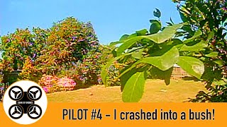 Game of Drones - Pilot #4 - FPV flight in the TinyHawk 2 - I crashed into a bush!