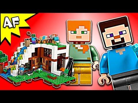 Vidéo LEGO Minecraft 21134 : La base sous la cascade