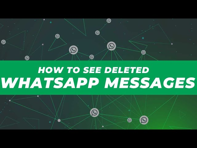 WhatsApp: How to See Deleted Messages on Android | NDTV Gadgets 360