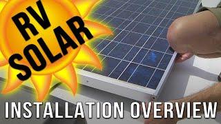 RV Solar Panel Installation Overview