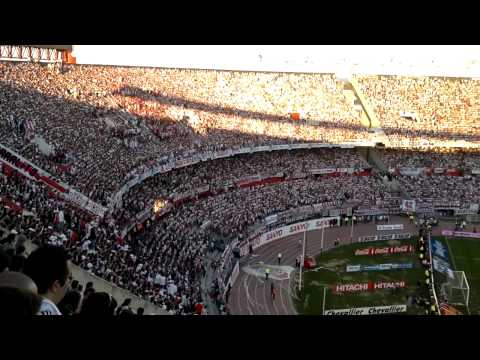 """""""TE ALENTARE HASTA LA MUERTE - River Plate vs Boca Jrs - Superclasico - Torneo Inicial 2013"""" Barra: Los Borrachos del Tablón • Club: River Plate • País: Argentina"""