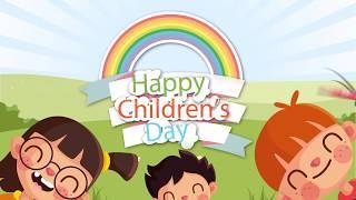 #Cartoon #Happychildrensday wishes | #childrensday whatsapp status 2020 | Childrens day greetings hd