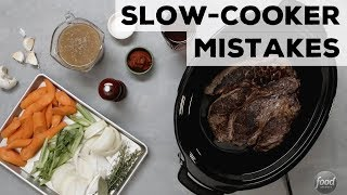 5 Slow-Cooker Mistakes | Food Network