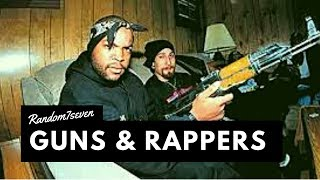 7 Rappers caught flashing their Gun in public Tyga, 21 Savage, Gunplay & more   Random7seven