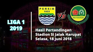 Hasil Liga 1 2019, Persib Bandung Harus Puas Berbagi Angka dengan Tira Persikabo