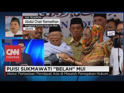 Abdul Choir: Minta Polisi Tidak Setop Kasus Puisi Sukmawati