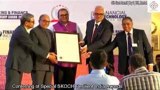 Shri VKSharma Chairman LIC awarded as Insurance Person of the Year and