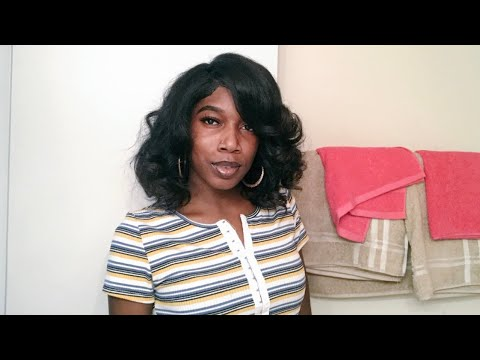 Body Curls On Thick, Long, Natural hair   Quick and Easy