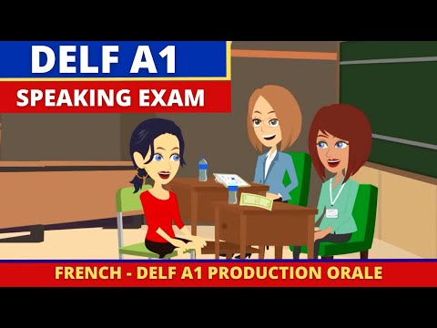 DELF A1 Production orale - French Speaking Exam Practice ...