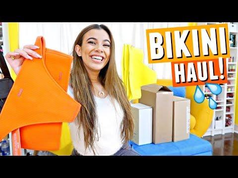 Huge Bikini Haul!👙 I went a bit crazy vacation shopping... Oops!