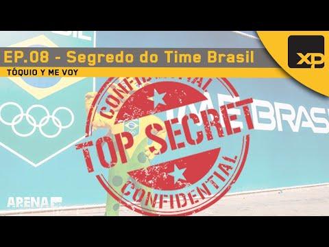 A SALA SECRETA DO TIME BRASIL - TÓQUIO Y ME VOY