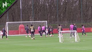 Fernandes Looks Sharp As Man United Prepare For Brugge | Manchester United v Brugge | Europa League