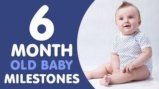 6 Month Old Baby Milestones