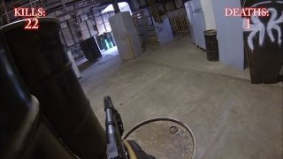 preview picture of video 'Kalamazoo Airsoft Action 8-10-2014'