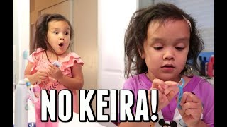 KEIRA, DON'T EAT IT! -  ItsJudysLife Vlogs