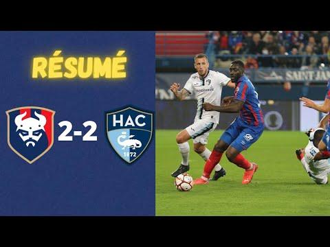 SM Stade Malherbe Caen 2-2 HAC Athletic Club Football Association Le Havre