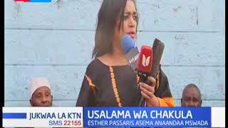 Esther Passaris aongelea usawa wa vyakula huku akitoa mbuzi 100 kwa sherehe za Eid Ul Adha