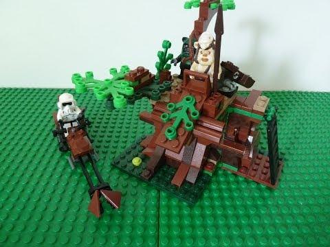 Vidéo LEGO Star Wars 7956 : L'attaque Ewok