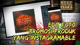 Cara Edit Foto Promosi Produk yang Instagramable dengan Adobe Spark