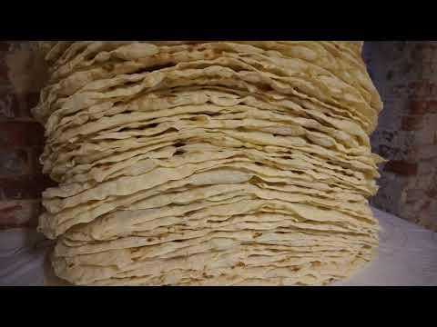 Лаваш—приготовление в домашних условиях II Armenian Lavash