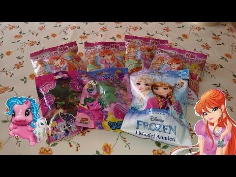 BLIND BAG EDICOLA - Apriamo insieme le bustine!! Winx, MLP, Frozen..
