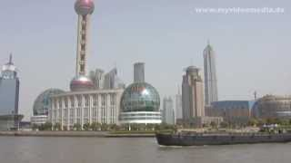preview picture of video 'Shanghai, Huangpu Jiang, River Cruise - China Travel Channel'
