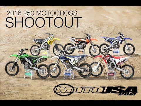 2016 250 Motocross Shootout – MotoUSA
