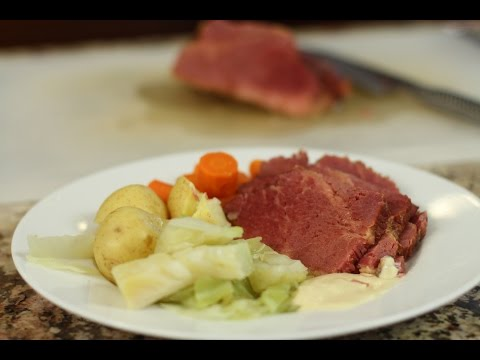 How To Make Corned Beef And Cabbage Recipe - Tender And Juicy | Rockin Robin Cooks