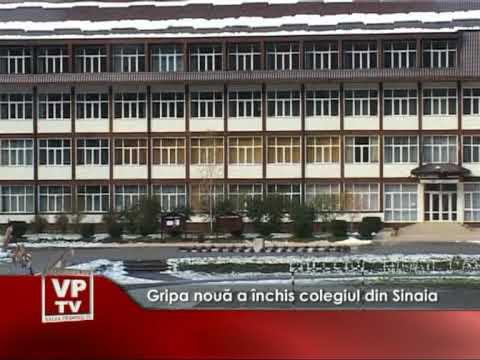 Gripa nouă a închis colegiul din Sinaia