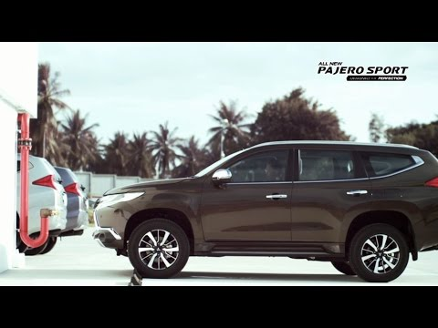 All New Pajero Sport – Advanced Safety & Advanced Performance