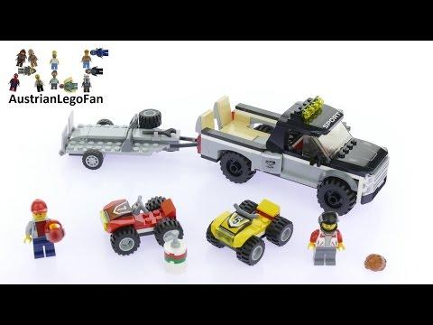 Vidéo LEGO City 60148 : L'équipe de course tout-terrain
