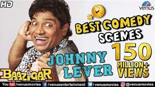 Johnny Lever - Best Comedy Scenes | Hindi Movies | Bollywood Comedy Movies | Baazigar Comedy Scenes - Download this Video in MP3, M4A, WEBM, MP4, 3GP