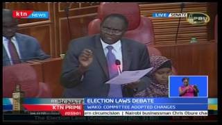 KTN Prime: Senators burn the midnight oil to discuss the controversial electoral laws' stalemate