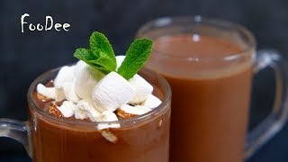 КАКАО  –  Горячий шоколад – Густой и ароматный горячий шоколад! Простой рецепт / Hot Chocolate