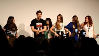 Nathaniel Buzolic, Teaching Nate How To Dance 'La Macarena' | Bloody NIght Con 4
