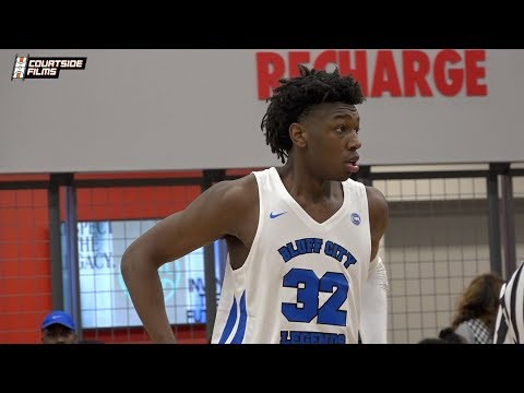 James Wiseman Single Game Highlights @ EYBL Session 1 in Dallas!