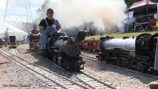 Buckeye Limited: Heavy Live Steam Rail Traffic at Tower
