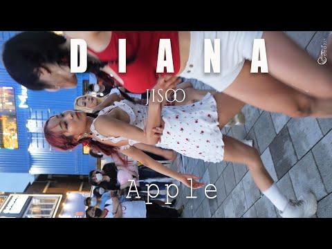 200801 댄스팀 다이아나 DIANA 지수 'Apple' @홍대버스킹 4K 60P 직캠