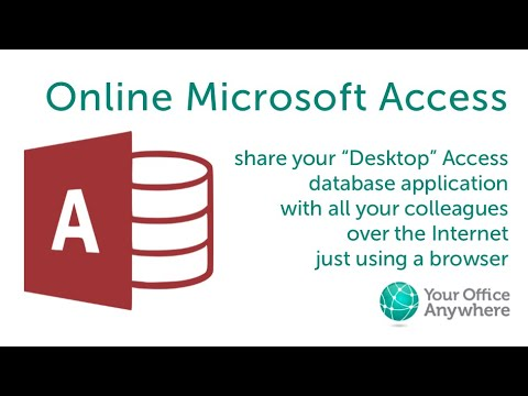 Microsoft Access Online - Access in a browser