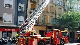 Пожарные в Аликанте, в Испании приезжают максимум за 5 минут.