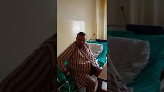 Krzysztof ze szpitala pozdrawia widzów